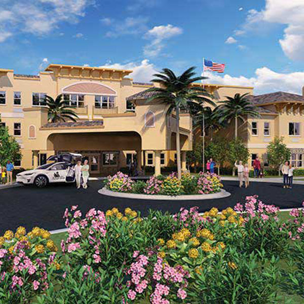 Tour the Assisted Living and Memory Care Community at Aravilla Sarasota